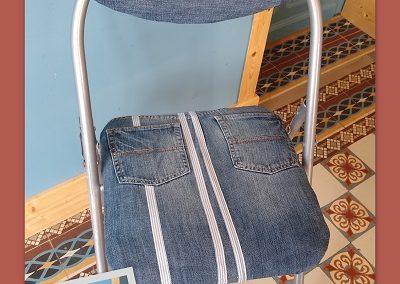 chaise pliante renovee jean